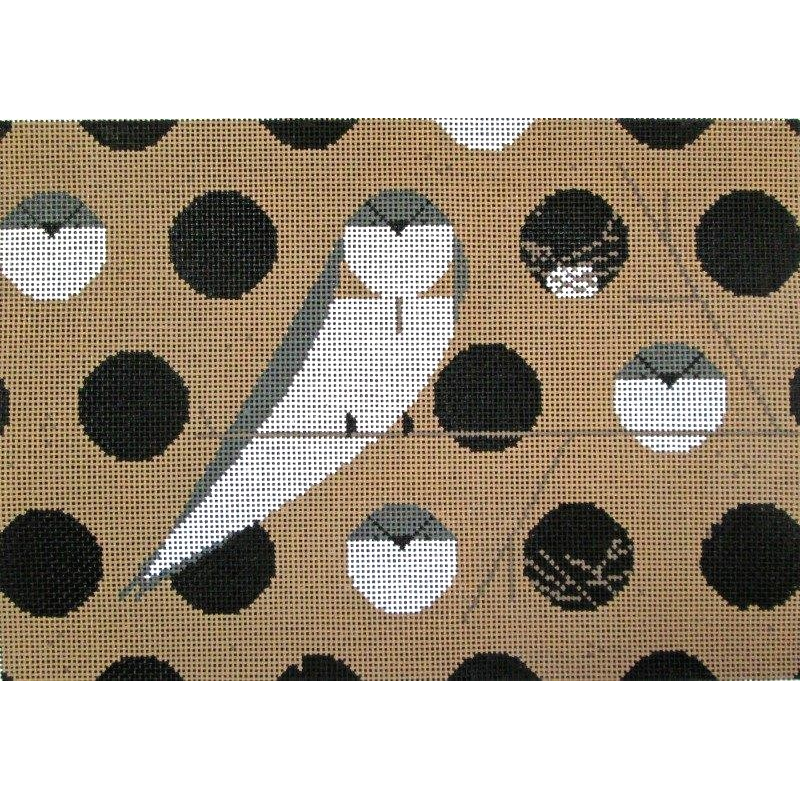 Charley Harper Needlepoint Bank Swallow