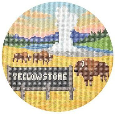 Yellowstone by Burnett & Bradley  - Canvas Only
