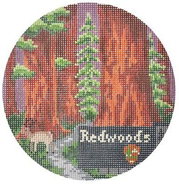 Redwoods by Burnett & Bradley   - Canvas Only