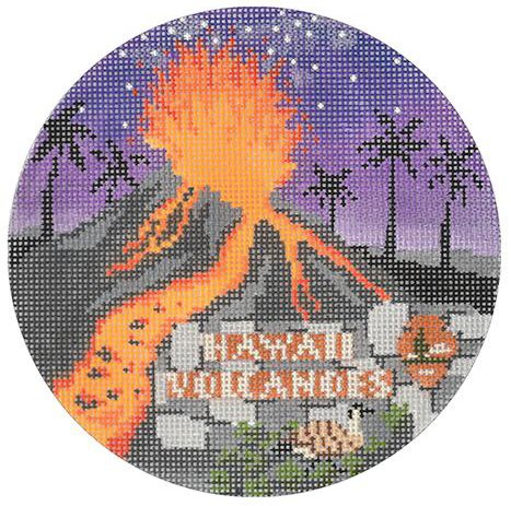 Hawaii Volcanoes by Burnett & Bradley   - Canvas Only