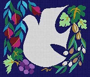 White Dove from Treglown Designs - Canvas Only