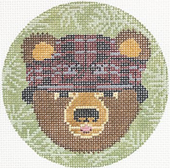 Bear Ornament - Canvas Only