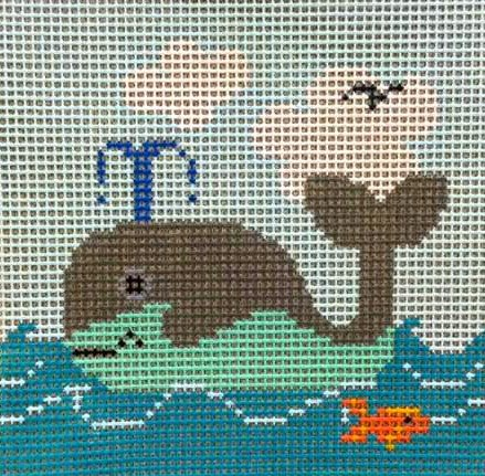 Beginner Needlepoint Kits Whale