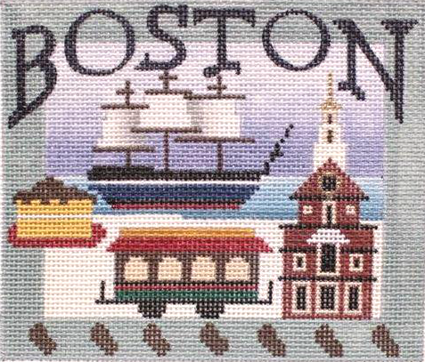 Boston Needlepoint - Canvas Only
