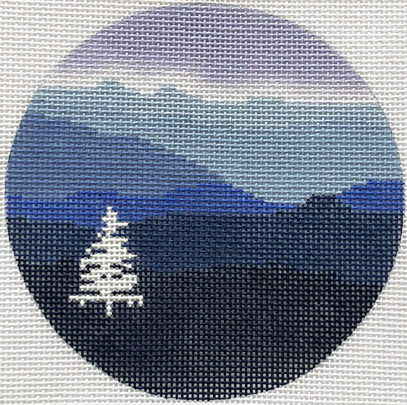Blue Ridge Mountains Winter Ornament