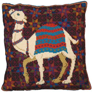 Camel Needlepoint Kit