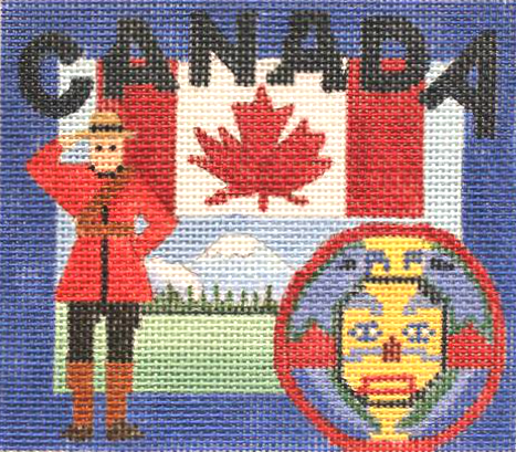 Canada Needlepoint - Canvas Only