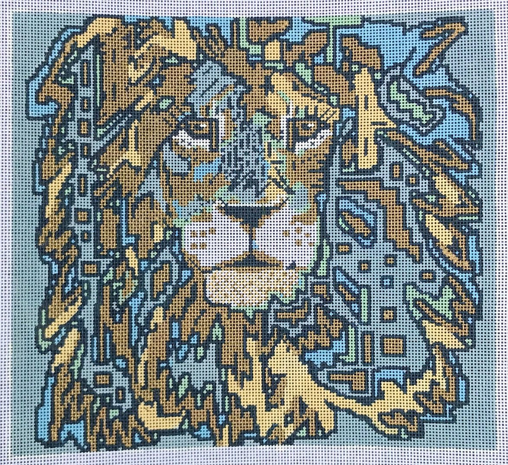 Cecil the Lion - Canvas Only