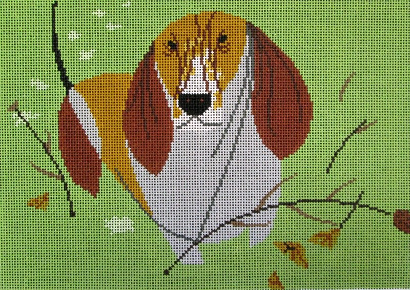 Basset Hound - Canvas Only