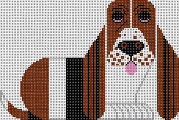 Basset Hound 2 - Canvas Only