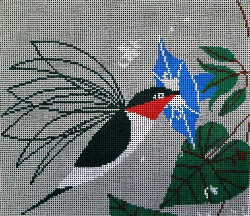Charley Harper Needlepoint Little Sipper - Canvas Only