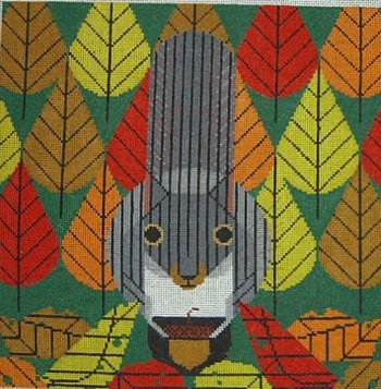 And One to Grow On Charley Harper Needlepoint - Canvas Only
