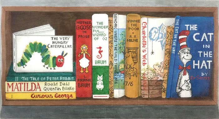 Children's Classics Books - Canvas Only