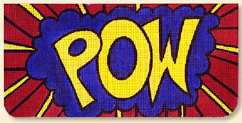 POW clutch - Canvas Only