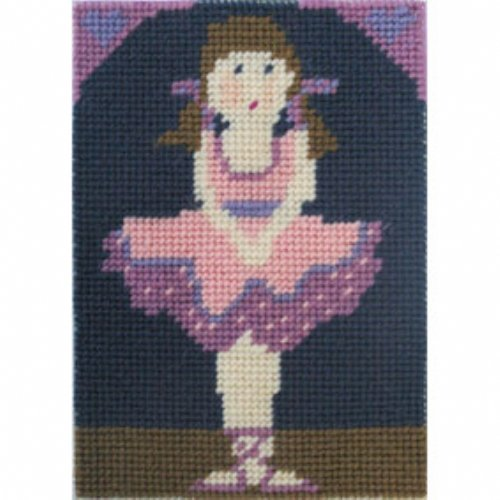 Kids Needlepoint Kit Daisy Does Ballet