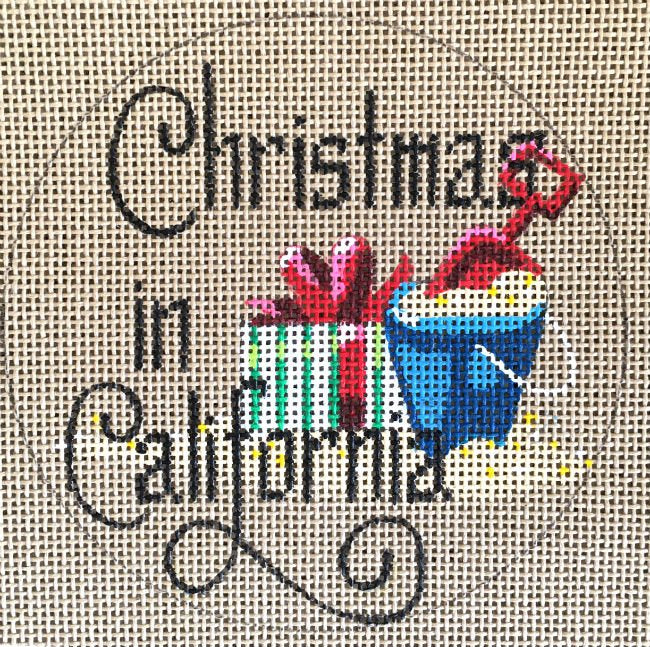 Christmas in California  - Canvas Only