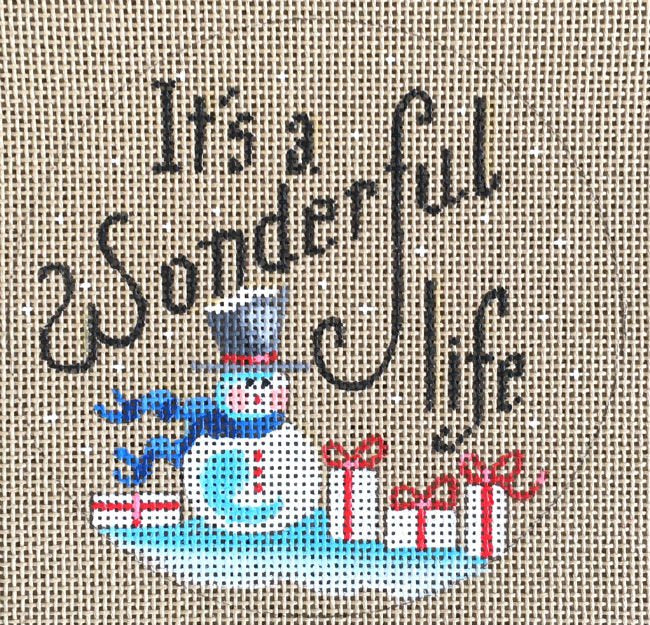 It's A Wonderful Life - Canvas Only