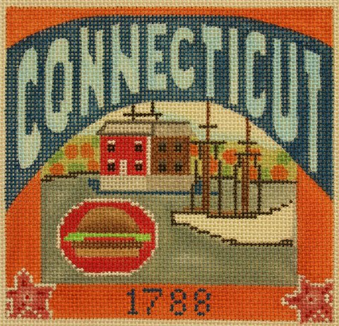 Connecticut Needlepoint - Canvas Only