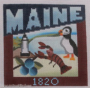 Maine Needlepoint - Canvas Only