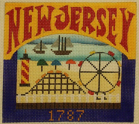 New Jersey Needlepoint - Canvas Only