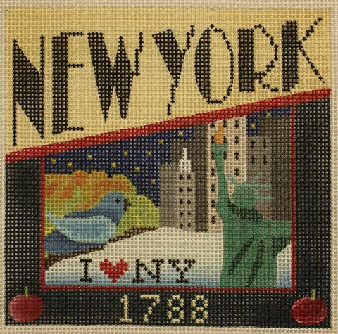 New York Needlepoint - Canvas Only