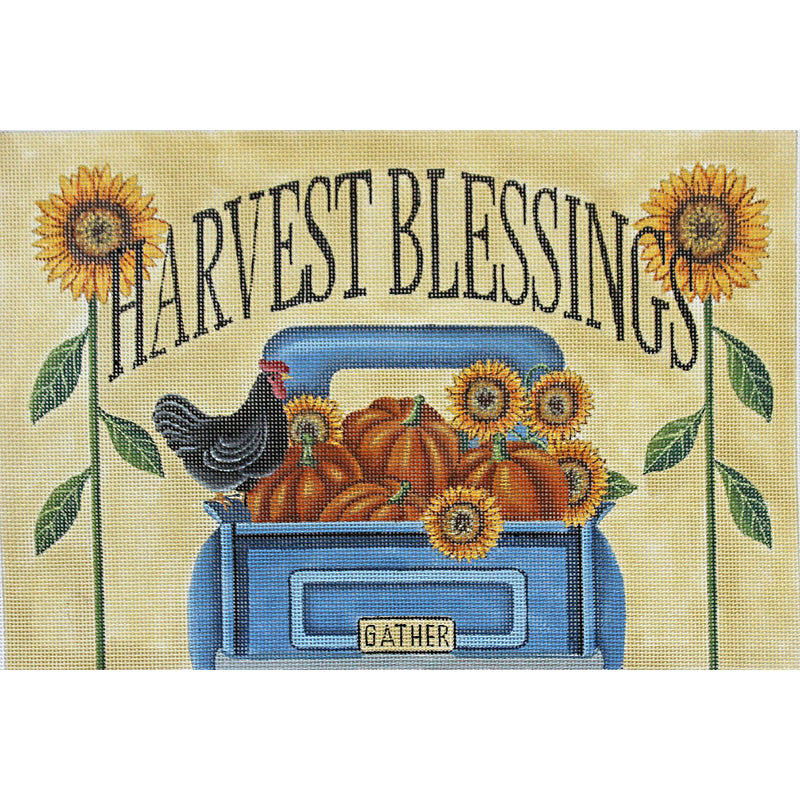 Harvest Blessings Needlepoint