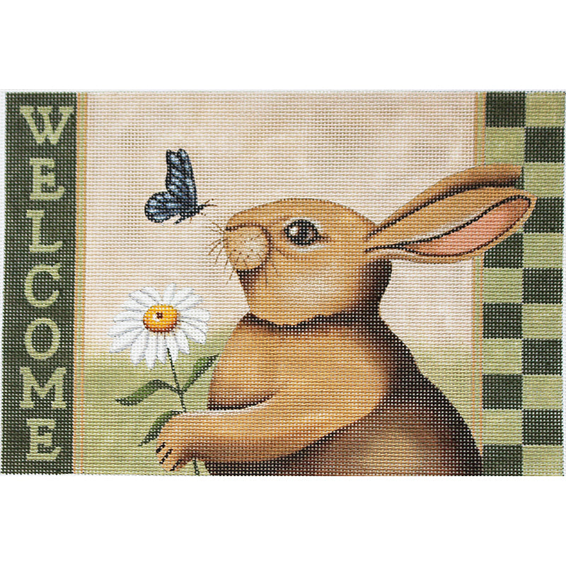 Spring Welcome Needlepoint