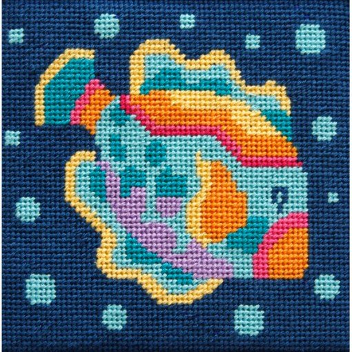 Easy Needlepoint Kit Fish