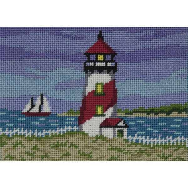 Easy Needlepoint Kit Red Lighthouse
