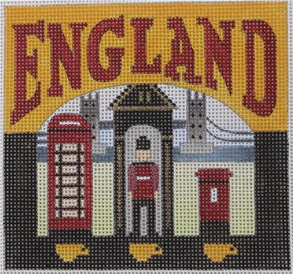 England Needlepoint - Canvas Only