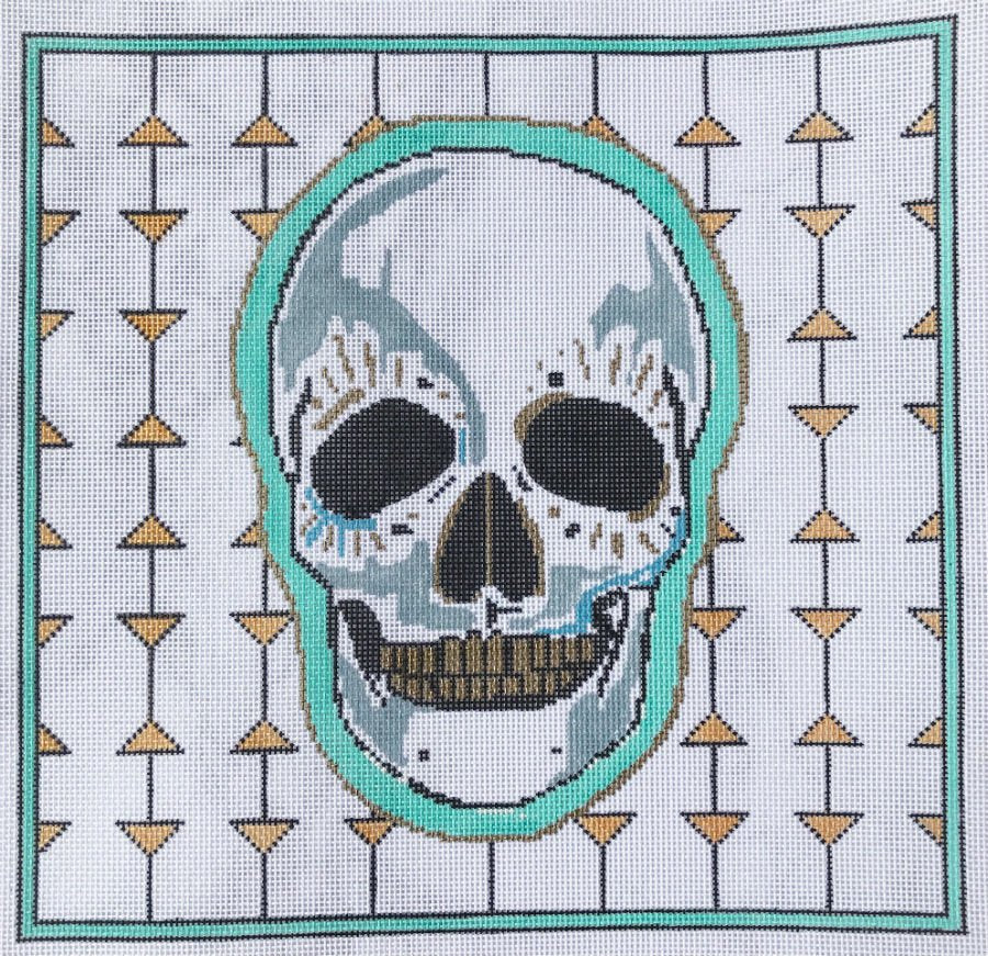 Festival Skull - Canvas Only