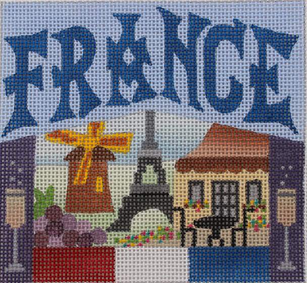 France Needlepoint - Canvas Only