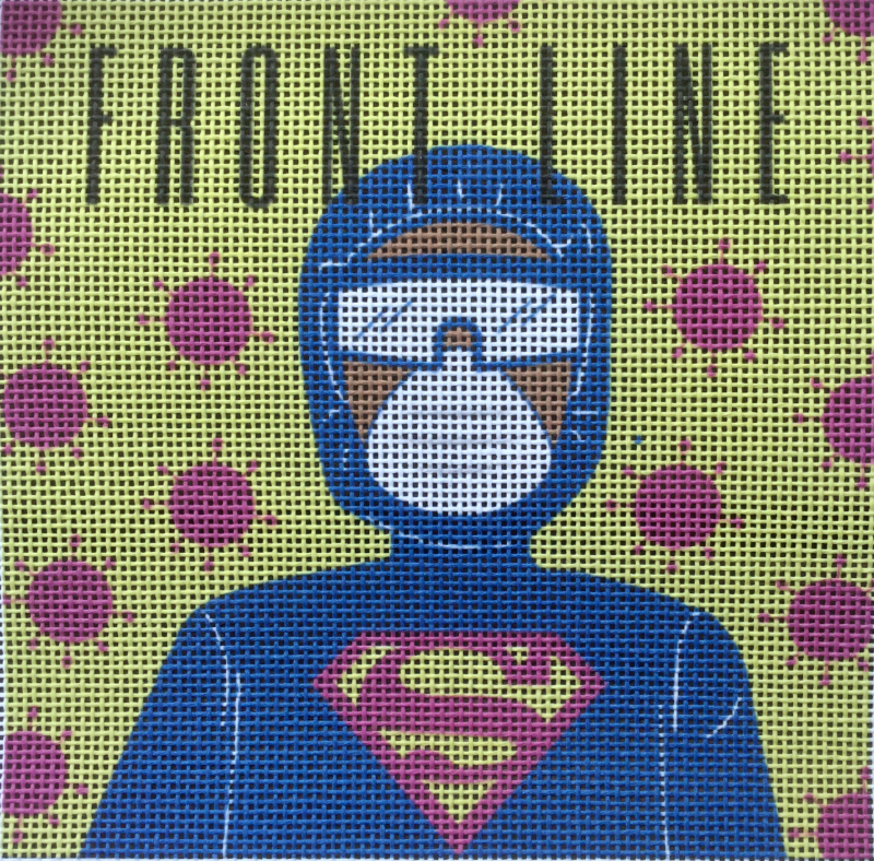 Frontline Needlepoint Kit