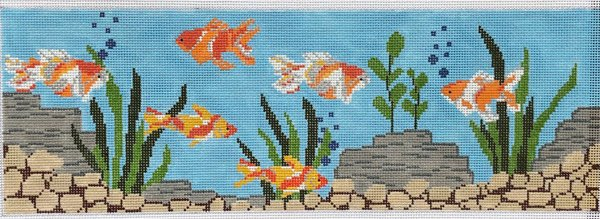 Fishtank by J Child - Canvas only
