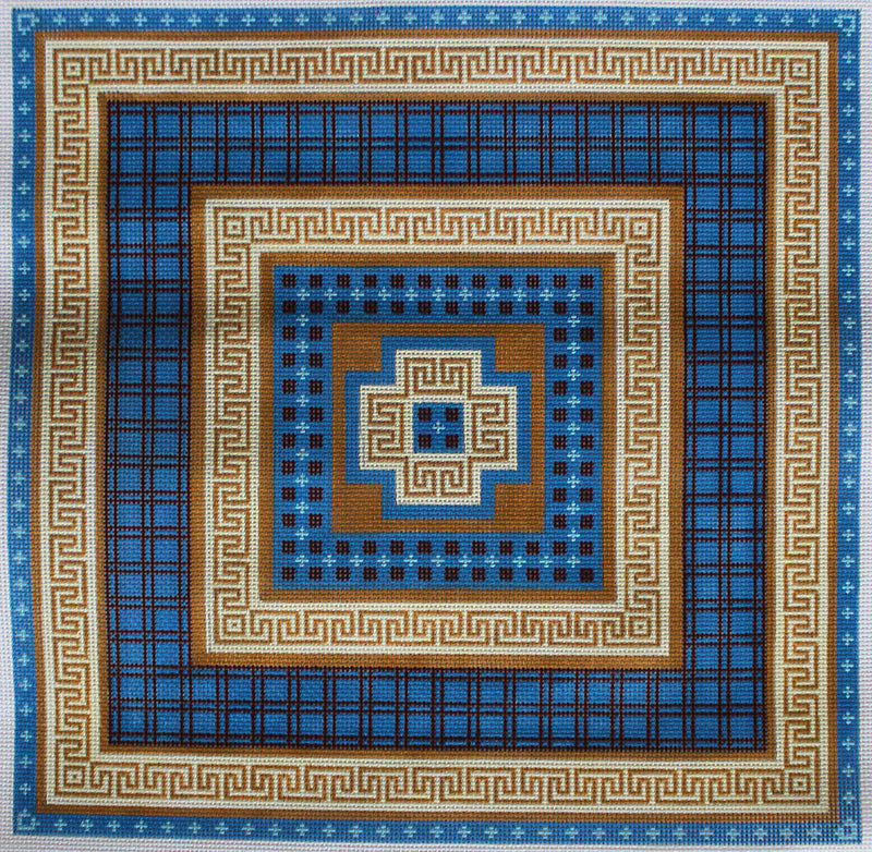 JP Needlepoint Greek Tiles