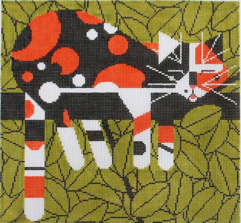 Charley Harper Needlepoint Limp On A Limb  - Canvas Only