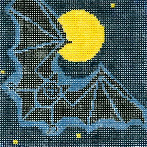 Charley Harper Needlepoint Bat - Canvas Only