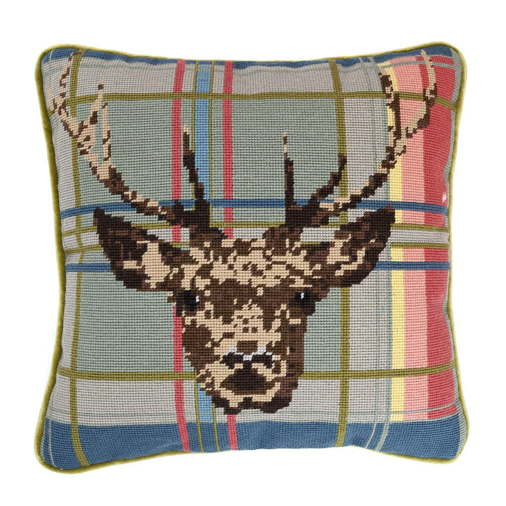 Highland Stag Needlepoint Kit