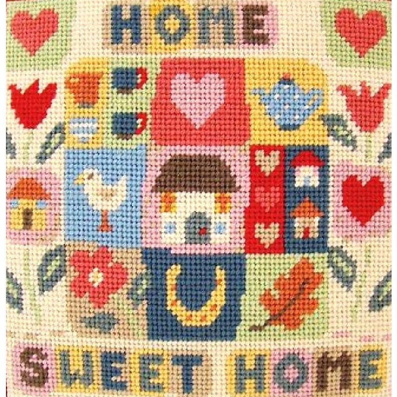 Home Sweet Home needlepoint kit