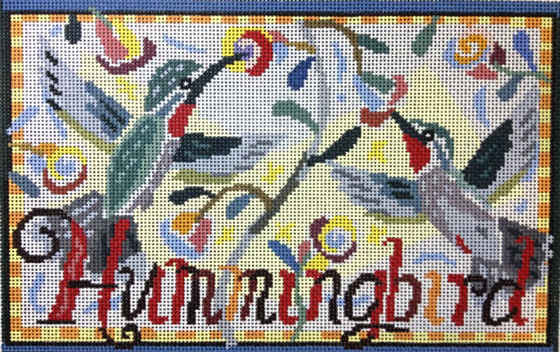 Hummingbird Needlepoint - Canvas Only