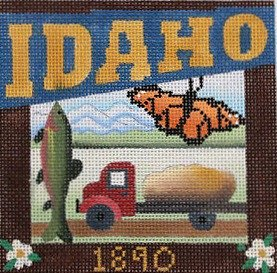 Idaho Needlepoint - Canvas Only