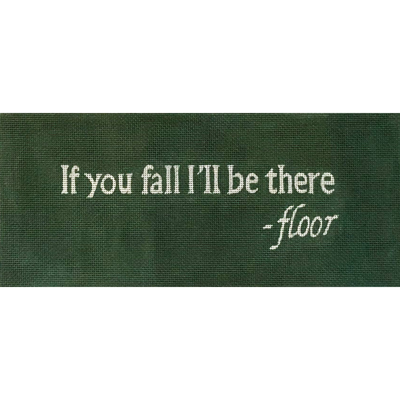 If You Fall Needlepoint