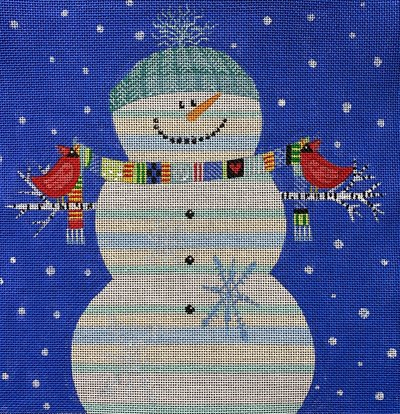 Happy Snowman  - Canvas Only