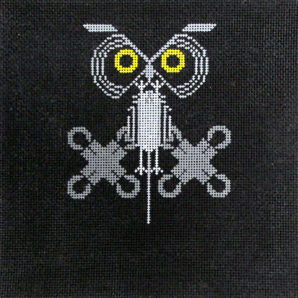 Owl on the Prowl  - Canvas Only