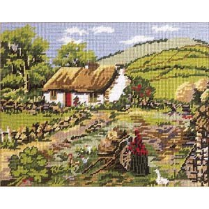Ireland Primavera Needlepoint Kit