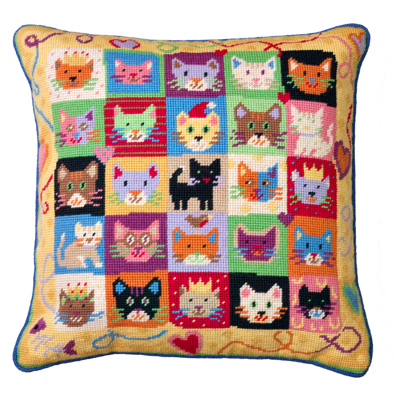 Kitten Caboodle Needlepoint Kit