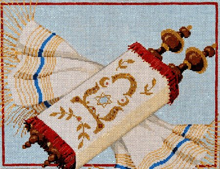 Judaic Needlepoint<BR>Tradition - Canvas Only