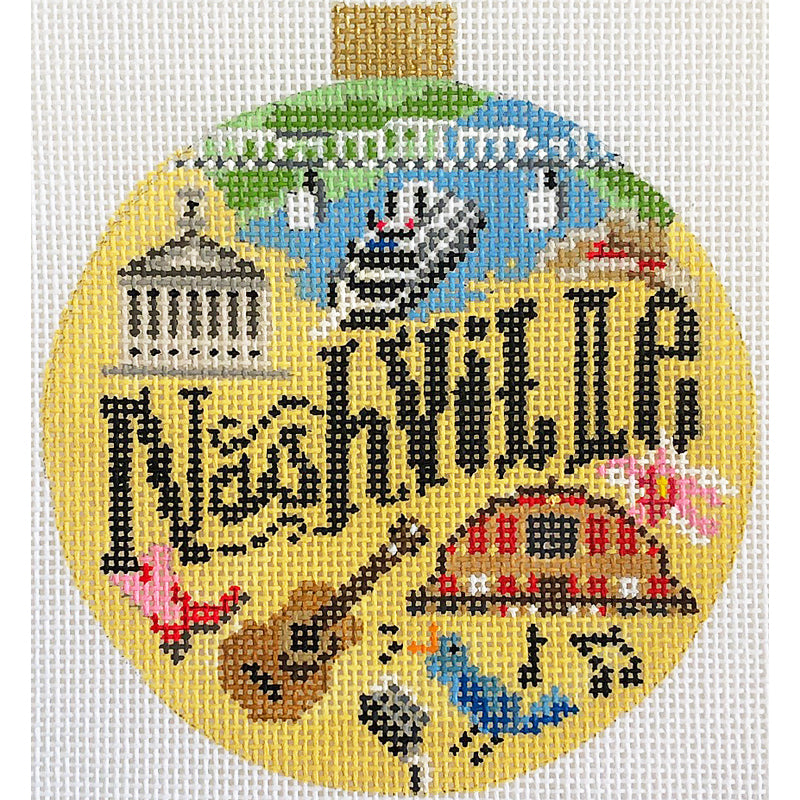 Nashville Needlepoint Travel Round