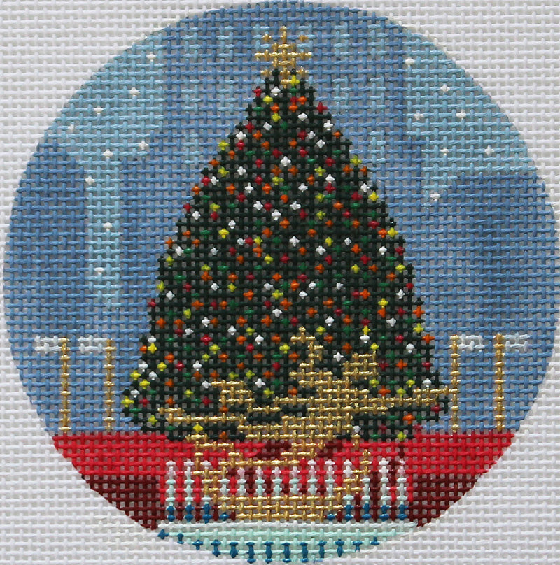 Kirk & Bradley Needlepoint Rockefeller Center