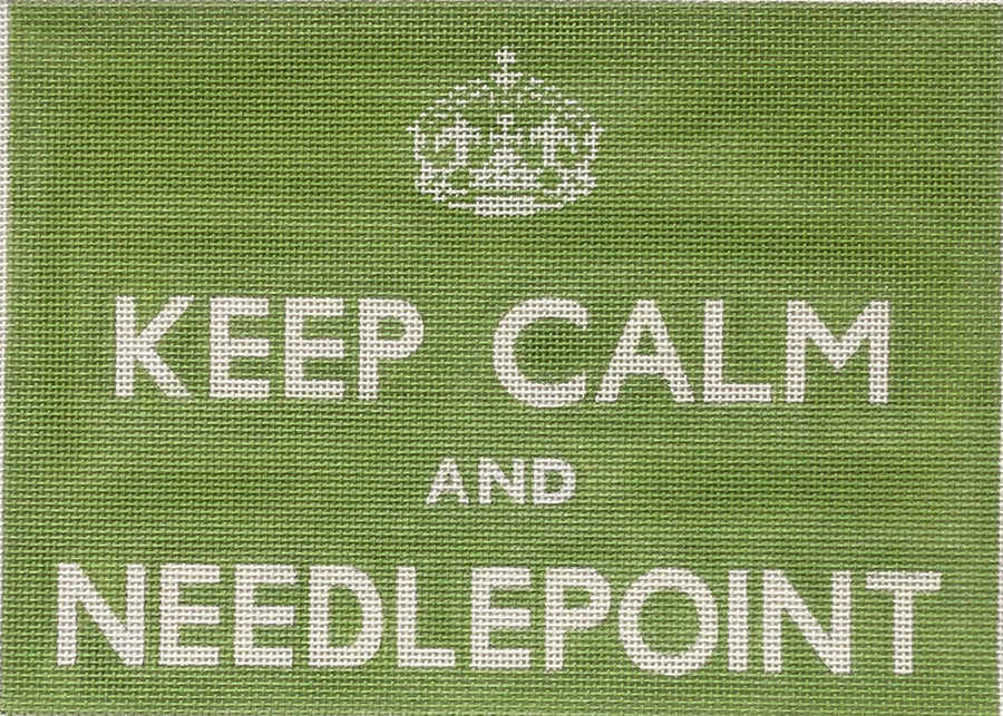 Keep Calm and Needlepoint